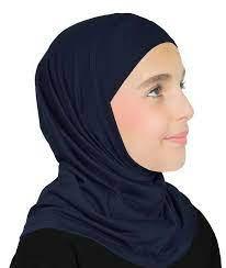 girl one piece hijab (Black)