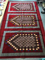 3 Person Family Prayer Rug