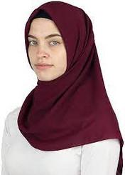 Medine Square Solid Chiffon Turkish Hijab Islamic Scarf 42x42in