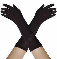 black white and brown GLOVES