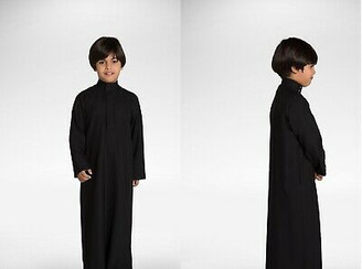 Al Haramain Boys Black Jubba