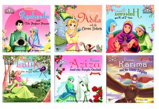Princess Series-Islamic Story Book For Muslim Children Kids