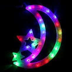 Star and Moon Ramadan LED lights (Big Size)