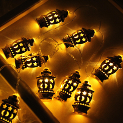 Star and Moon Lateran String lights