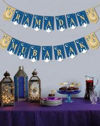 Ramadan Mubarak Banner (18 pcs)