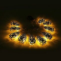 Lateran Star and Moon String lights