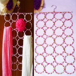 Cotton Hijab Hanger For Women - Multi Color