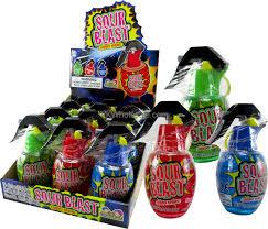 sour blast candy(12pcs)