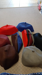 Felt hats  6 colors