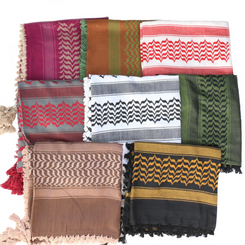 New Palestinian Arabic Keffiyeh Shemagh Scarf Traditional Hat Cotton 8 color