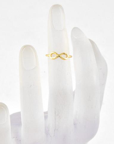Gold Infinity Midi Ring