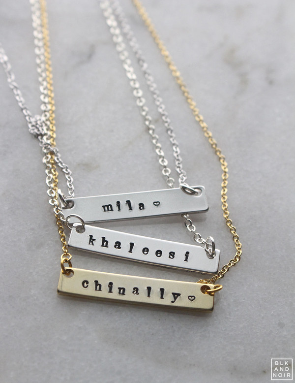 Nametag Necklace