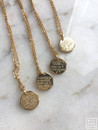 Custom Gold Coin Necklace