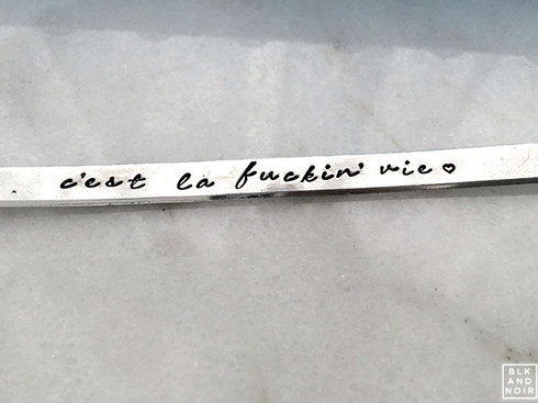 C'est La Fucking Vie Bracelet