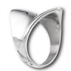 STAINLESS STEEL CONCAVE SHIELD RING