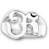 STAINLESS STEEL OM/OHM/AUM RING