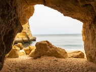 Benagil Sea Cave, Algarve, Portugal