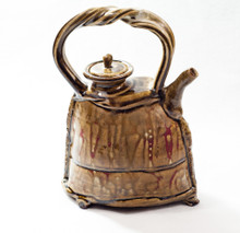 Ghostly Pictograph Teapot
