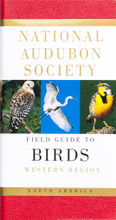 National Audubon Society Field Guide to Birds Western Region North America