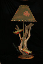 Trout Lamp by Jim Armstrong