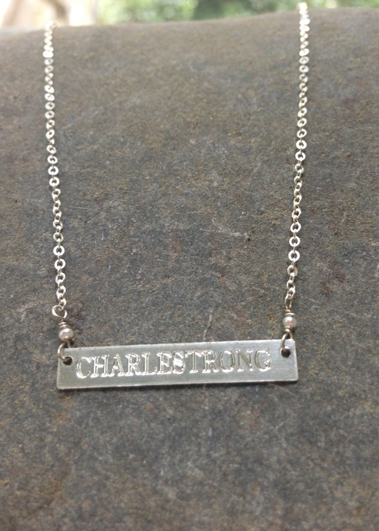 Charlestrong Necklace- Silver