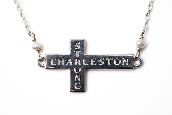 Charleston Strong Necklace- Silver