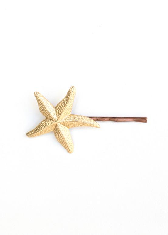 Starfish Hairpin