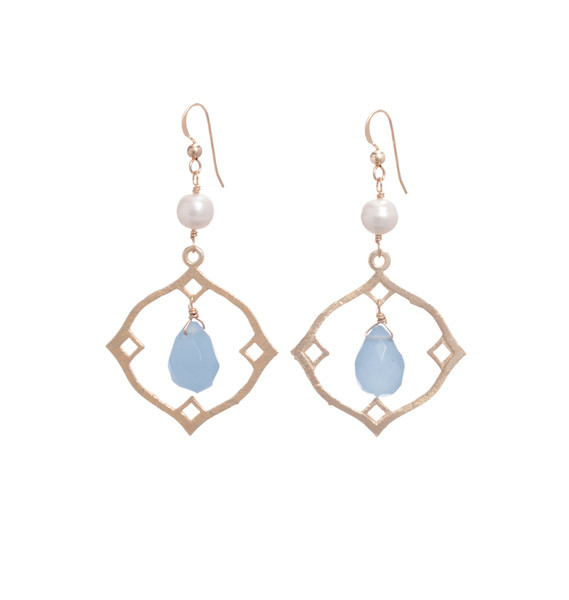Emerson Earrings- Periwinkle