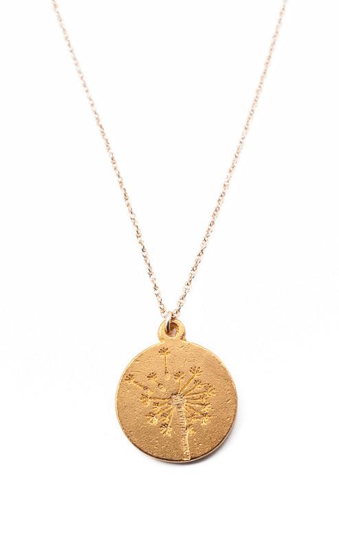 Dandelion Necklace