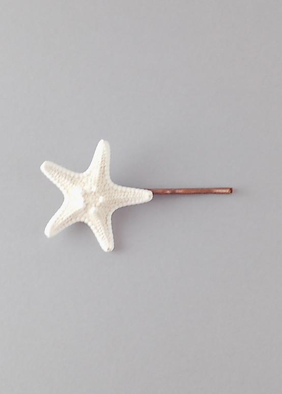 Sweet Starfish Hairpin
