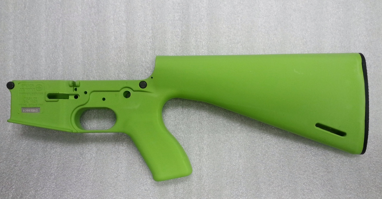 CAV-15 MKII AR15 Polymer Stripped Lower Receiver - Zombie Green AR-15
