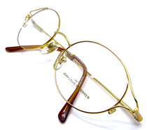 Jean-Louis Scherrer AGDE Vintage Oval Spectacles In A Gold Finish At Eyehuggers