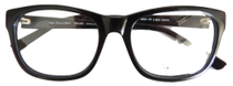 Black Acrylic glasses frames by Eyehuggers
