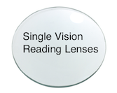 Single Vision Reading lenses