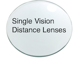Single Vision Distance lenses
