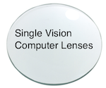 Single Vision Intermediate lenses (computers)