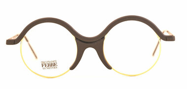 GFF41 Black and Gold Distinctive Vintage eyewear