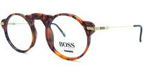 Hugo Boss Round Eye Vintage Designer Totoiseshell Eyewear 5108 13