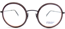 Vintage Style Round Combination Model Spectacles By Feb31st At www.eyehuggers.co.uk