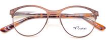 TF Occhiali Glasses in Bronze from eyehuggers Ltd