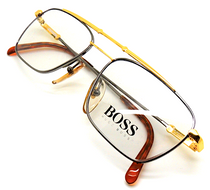 Vintage Rectangular Frames Hugo Boss By Carrera 5124