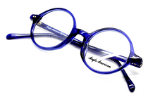 Anglo American 400 Blue Acrylic Glasses At Eyehuggers