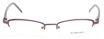 One Off! Burberry B9431 Half Rim Reading Frame