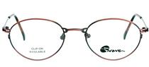 REDUCED Vintage NIKON 7420 ANTIQUE red metal prescription glasses