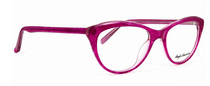 Panto Shaped pink Acrylic Glasses By Anglo American At Eyehuggers