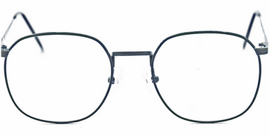 Vintage Large Eye Glasses In Antique Blue By Avalon At www.eyehuggers.co.uk