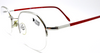 Forma Mentis Pioppo Half Rim Hexangonal Glasses from www.eyehuggers.co.uk