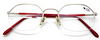 Old Style Half Rimmed Hexagonal Designer Glasses By Forma Mentis At Eyehuggers