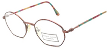 Vintage Hexagonal Designer Glasses By Hardy Amies At Eyehuggers