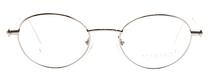 Iceberg 73 Classic Oval Designer Glasses In Silver At Eyehuggers Ltd